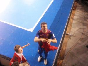Jordi Torras con nuestro pañuelico