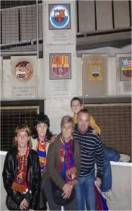 Viendo al Barça en el Camp Nou