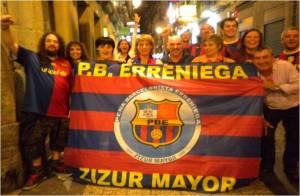 Siguiendo al Barça en Donosti