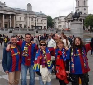 En Trafalgar Square