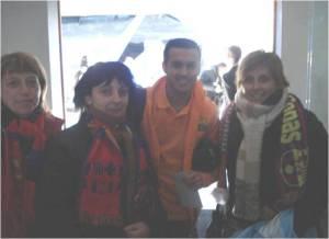 Con Pedro